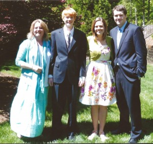 About Kim, Joshua, Jessica, Dylan at Eastertime 2012